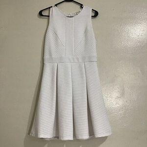 Francesca's White A-line Dress